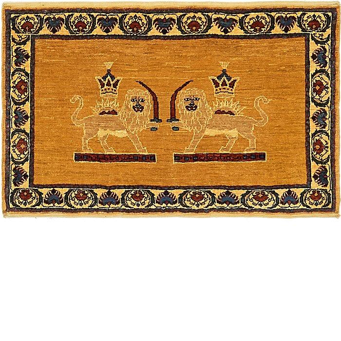 2' 2 x 3' 4 Ghashghaei Persian Rug