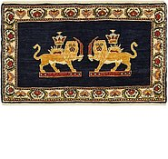 Link to 2' 2 x 3' 4 Ghashghaei Persian Rug