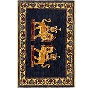 Link to 2' 3 x 3' 4 Ghashghaei Persian Rug