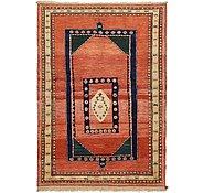 Link to 4' 2 x 6' Ghashghaei Persian Rug