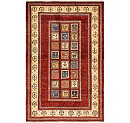 Link to 4' 3 x 6' 7 Shiraz-Gabbeh Persian Rug