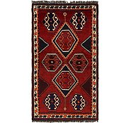 Link to 127cm x 225cm Shiraz-Lori Persian Rug