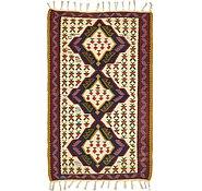 Link to 3' 4 x 5' 8 Kilim Fars Rug