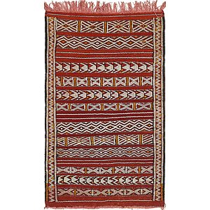 3' 3 x 5' 5 Moroccan Rug