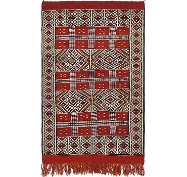 91x147 Moroccan Rug