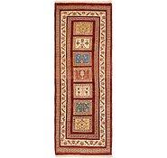 Link to 3' x 8' 3 Shiraz-Gabbeh Persian Runner Rug
