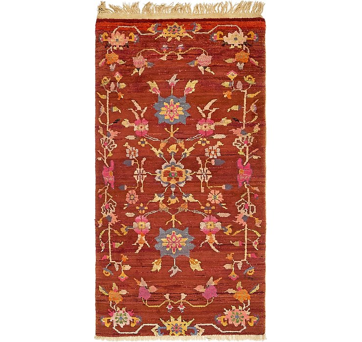 85cm x 170cm Antique Finish Rug