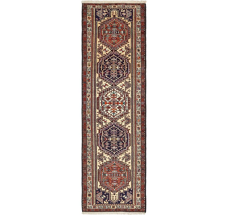 2' 6 x 9' 6 Ardabil Persian Runner ...
