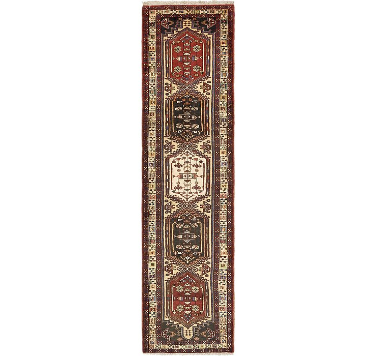 2' 7 x 10' 2 Ardabil Persian Runner ...