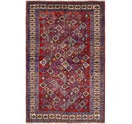 Link to 5' 2 x 8' 7 Shiraz Persian Rug