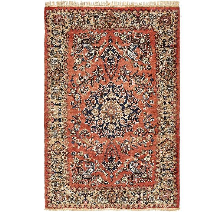 4' 4 x 6' 7 Kerman Persian Rug