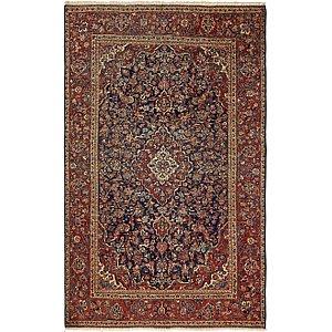 4' x 6' 7 Kashan Persian Rug