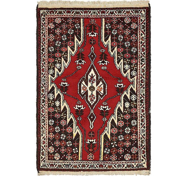 3' 6 x 5' 2 Mazlaghan Persian Rug