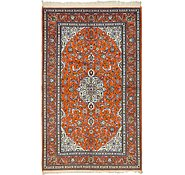 Link to 5' x 8' 7 Kashan Persian Rug