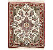Link to 3' 2 x 4' Qom Persian Rug