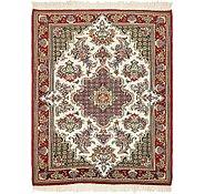 Link to 3' 2 x 4' Qom Persian Rug