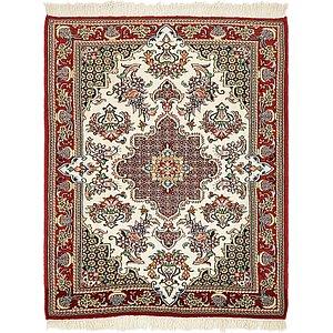 3' 2 x 4' Qom Persian Rug