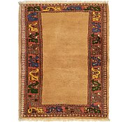 Link to 3' x 3' 10 Yalameh Persian Rug