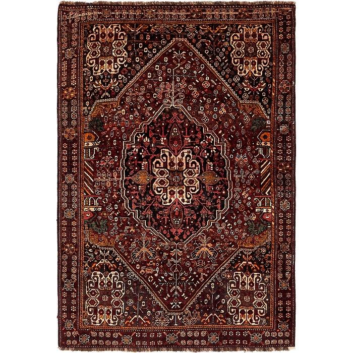 5' 2 x 7' 7 Ghashghaei Persian Rug