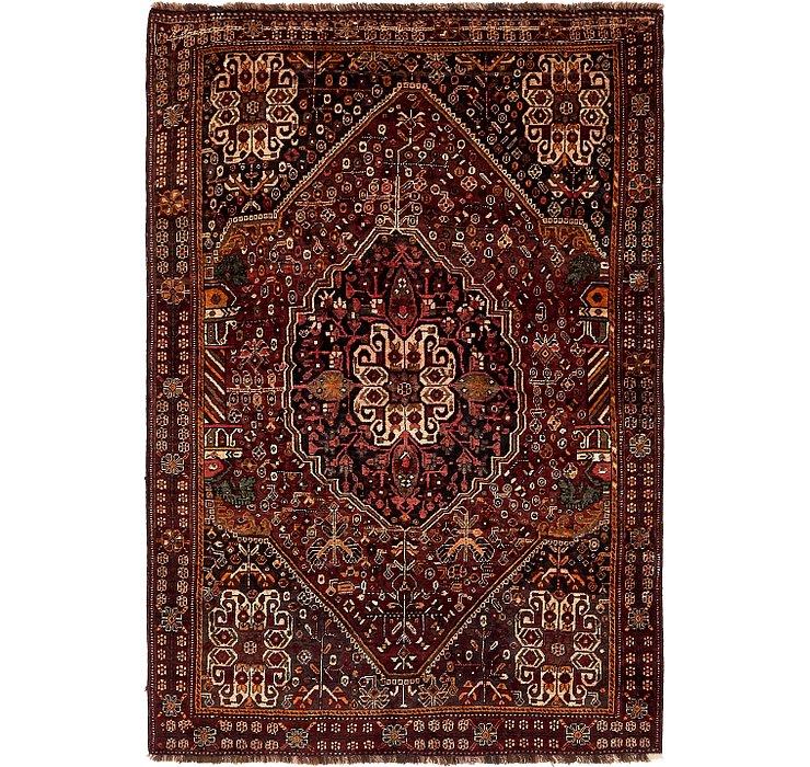 157cm x 230cm Ghashghaei Persian Rug