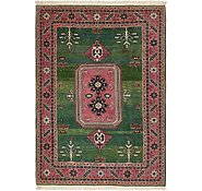 Link to 5' 7 x 8' Heriz Persian Rug