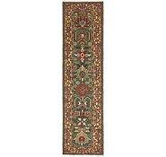 Link to 3' x 11' 6 Heriz Persian Runner Rug