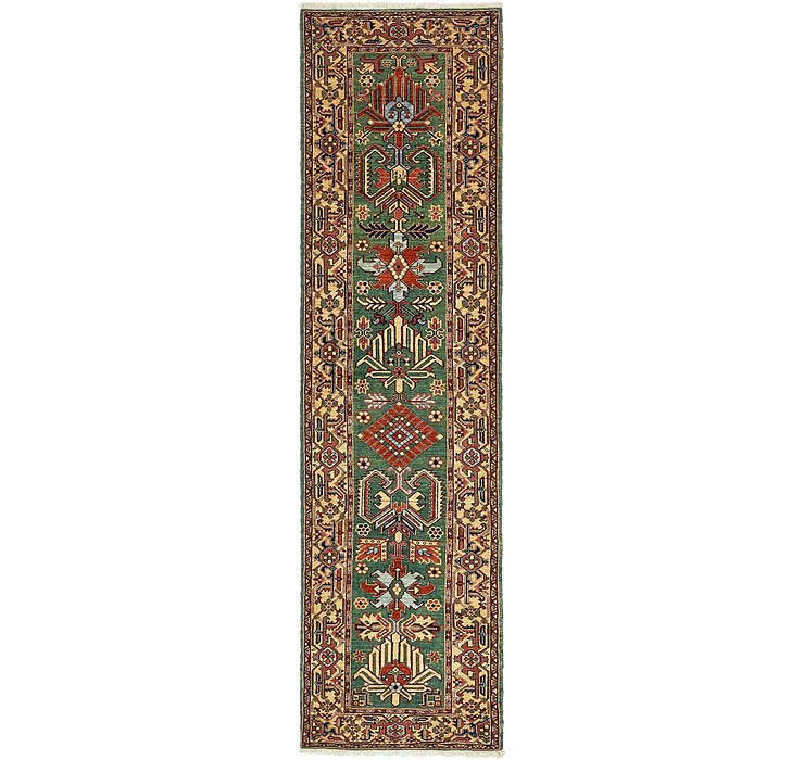 3' x 11' 6 Heriz Persian Runner Rug
