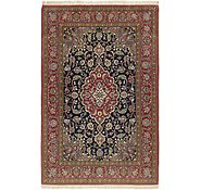 Link to 4' 8 x 7' 3 Qom Persian Rug