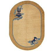 Link to 6' 2 x 8' 8 Antique Finish Oval Rug
