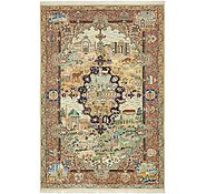 Link to 6' 6 x 9' 9 Kashmar Persian Rug