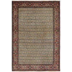 Unique Loom 6' 6 x 9' 8 Bidjar Persian Rug