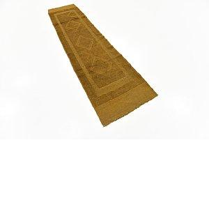 HandKnotted 2' x 8' Sumak Runner Rug
