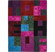 Link to 7' 4 x 10' Patchwork Rug