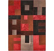 Link to 7' 2 x 10' Patchwork Rug