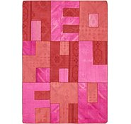Link to 4' 6 x 6' 7 Patchwork Rug