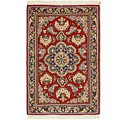 Link to 3' 4 x 5' 3 Qom Persian Rug