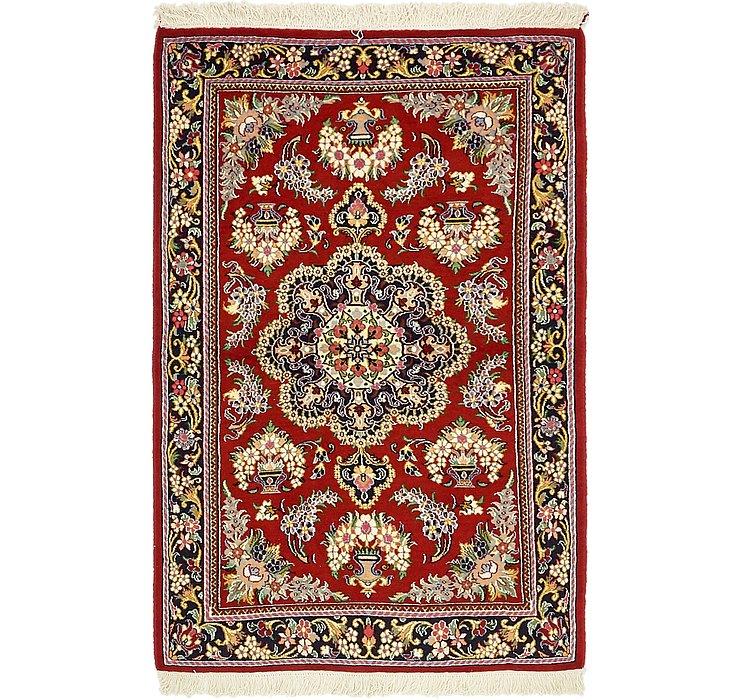 3' 4 x 5' 3 Qom Persian Rug