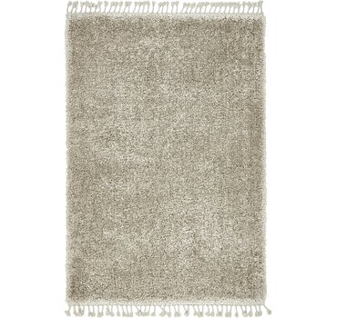 163x234 Luxe Solid Shag Rug