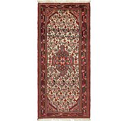 Link to 2' 8 x 6' 2 Mazlaghan Persian Runner Rug