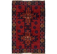 Link to 3' x 4' 8 Balouch Persian Rug