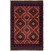 Link to 3' x 4' 3 Balouch Persian Rug