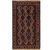 Link to 2' 10 x 4' 10 Balouch Persian Rug