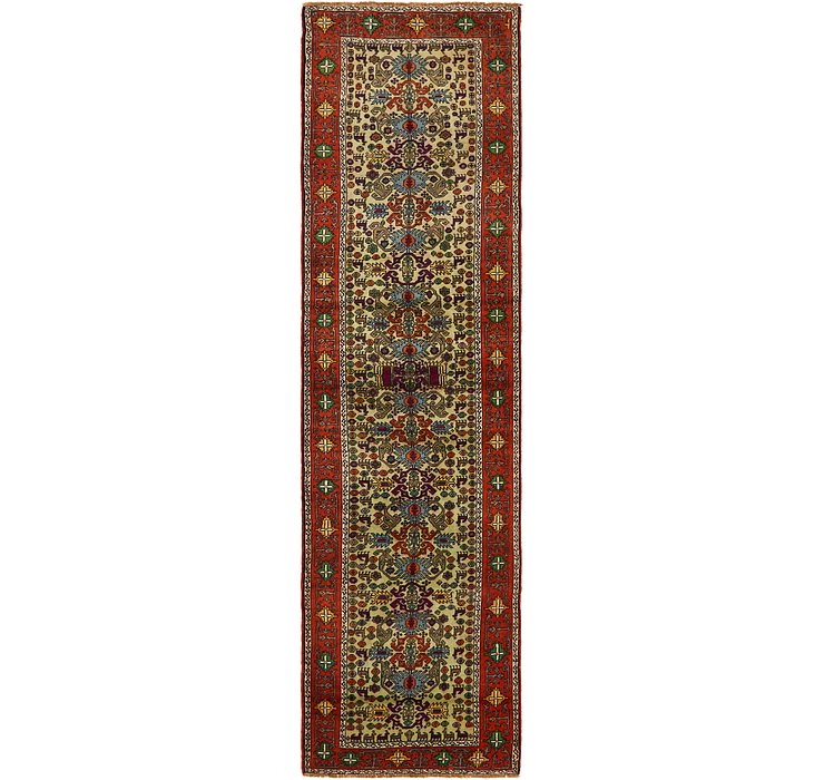 2' 7 x 10' Ardabil Persian Runner ...