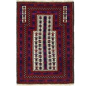Link to 90cm x 132cm Balouch Persian Rug