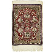 Link to 2' 4 x 3' 2 Qom Persian Rug