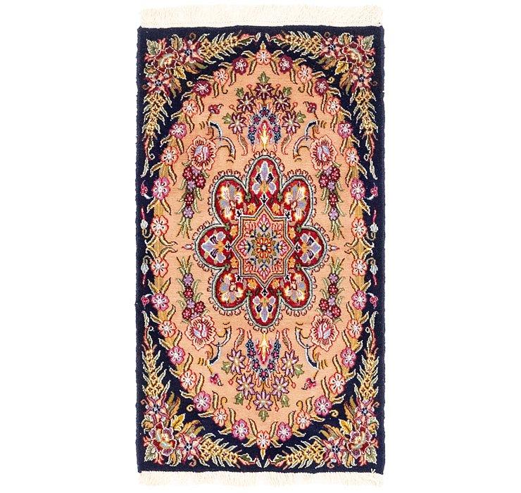 2' x 3' 9 Tabriz Persian Rug