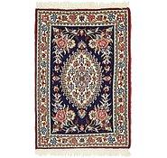 Link to 2' x 3' Qom Persian Rug