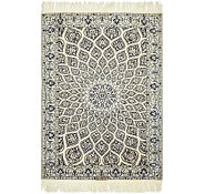 Link to 3' 2 x 4' 5 Nain Persian Rug