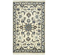 Link to 3' x 4' 9 Nain Persian Rug