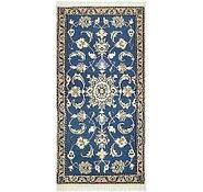 Link to 2' 2 x 4' 4 Nain Persian Rug